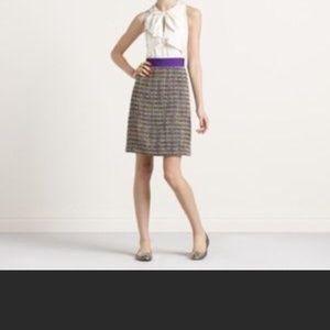Kade Spade Silk & Tweed Dress Size 2